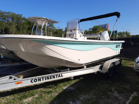 2018 Carolina Skiff 18 JVX CC for sale at Boats And Cars - Manatee Marine Unlimited in Palmetto FL