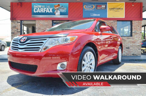 2010 Toyota Venza for sale at ALWAYSSOLD123 INC in North Miami Beach FL