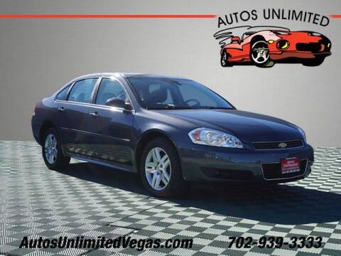 2010 Chevrolet Impala for sale at Autos Unlimited in Las Vegas NV
