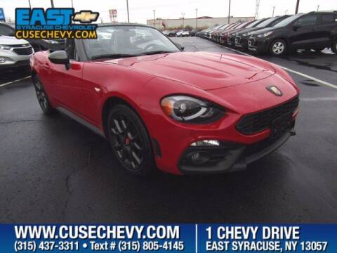 2017 FIAT 124 Spider for sale at East Syracuse Performance Sales & Service in Syracuse NY