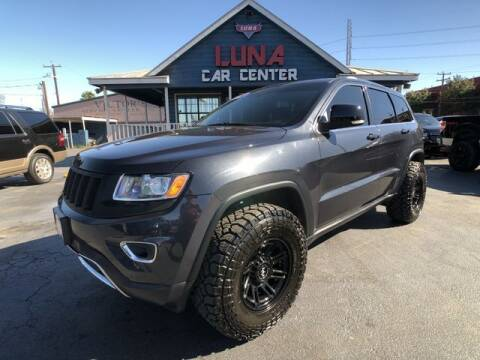 2015 Jeep Grand Cherokee for sale at LUNA CAR CENTER in San Antonio TX
