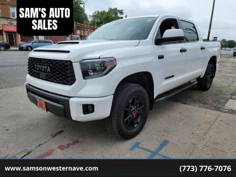 2019 Toyota Tundra for sale at SAM'S AUTO SALES in Chicago IL