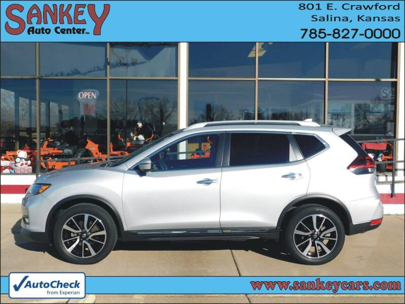 2020 Nissan Rogue for sale at Sankey Auto Center, Inc in Salina KS