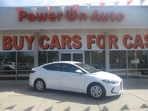 2017 Hyundai Elantra for sale at Power On Auto LLC in Monroe NC