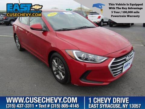 2018 Hyundai Elantra for sale at East Syracuse Performance Sales & Service in Syracuse NY