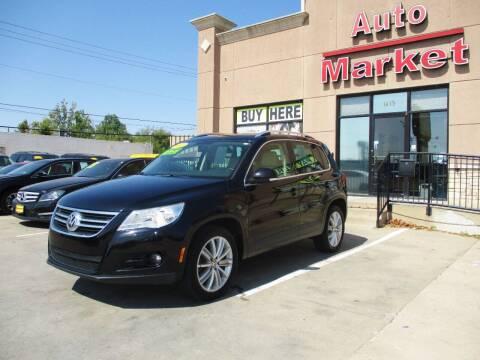 2011 Volkswagen Tiguan for sale at Auto Market in Oklahoma City OK