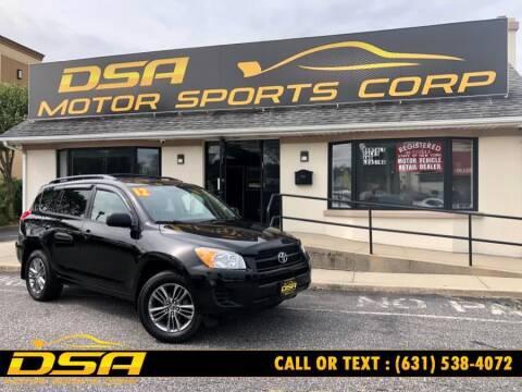 2012 Toyota RAV4 for sale at DSA Motor Sports Corp in Commack NY