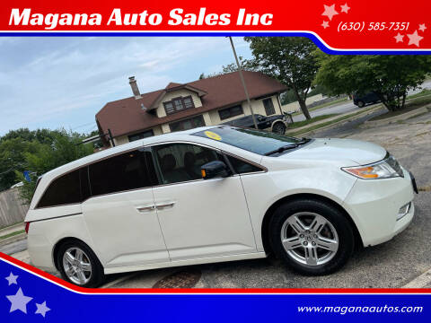 2012 Honda Odyssey for sale at Magana Auto Sales Inc in Aurora IL