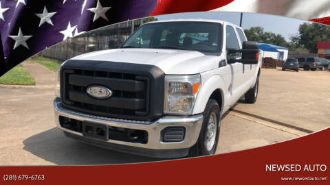 2012 Ford F-250 Super Duty for sale at Newsed Auto in Houston TX