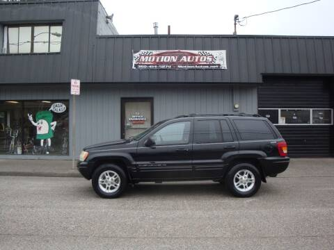 2000 Jeep Grand Cherokee for sale at Motion Autos in Longview WA