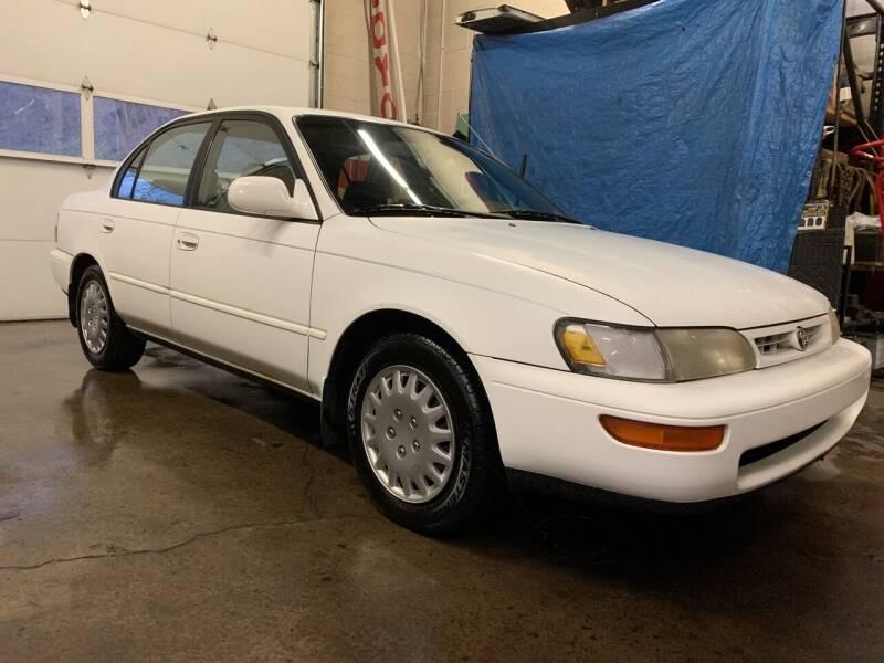 1996 Toyota Corolla for sale at GRAHAM'S AUTO SALES & SERVICE INC in Ephrata PA