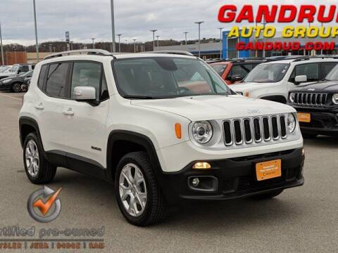 2017 Jeep Renegade for sale at Gandrud Dodge in Green Bay WI