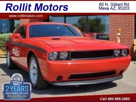 2014 Dodge Challenger for sale at Rollit Motors in Mesa AZ