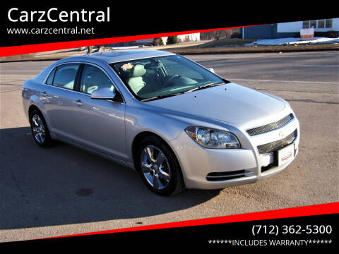 2011 Chevrolet Malibu for sale at CarzCentral in Estherville IA