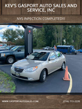 2008 Hyundai Elantra for sale at KEV'S GASPORT AUTO SALES AND SERVICE, INC in Gasport NY