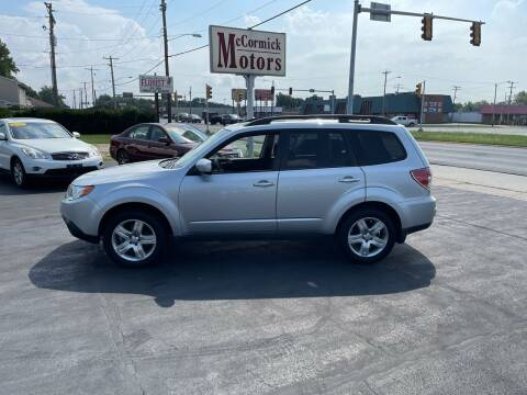 2009 Subaru Forester for sale at McCormick Motors in Decatur IL