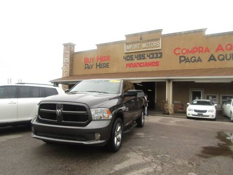 2015 RAM Ram Pickup 1500 for sale at Import Motors in Bethany OK