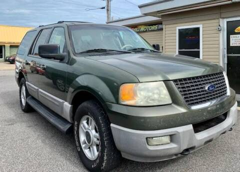 2003 Ford Expedition for sale at Chili Motors in Mayfield KY