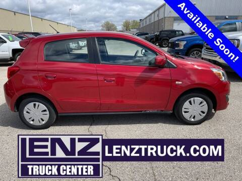 2018 Mitsubishi Mirage for sale at LENZ TRUCK CENTER in Fond Du Lac WI