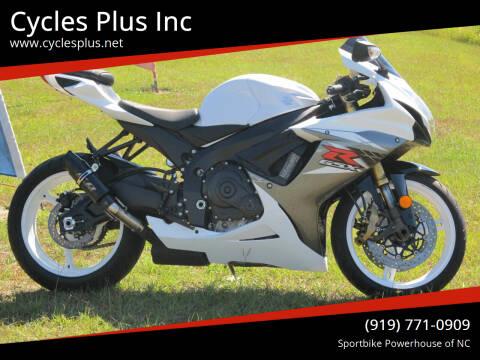 2020 Suzuki GSXR 750 for sale at Cycles Plus Inc in Garner NC