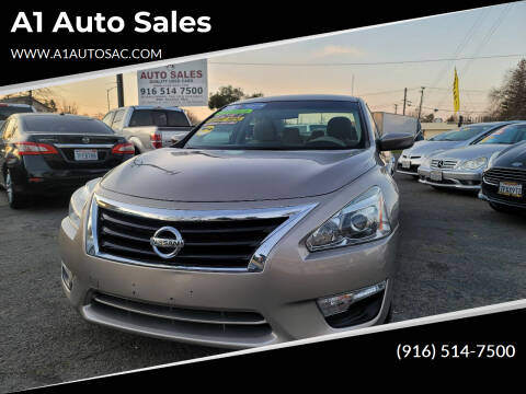 2015 Nissan Altima for sale at A1 Auto Sales in Sacramento CA