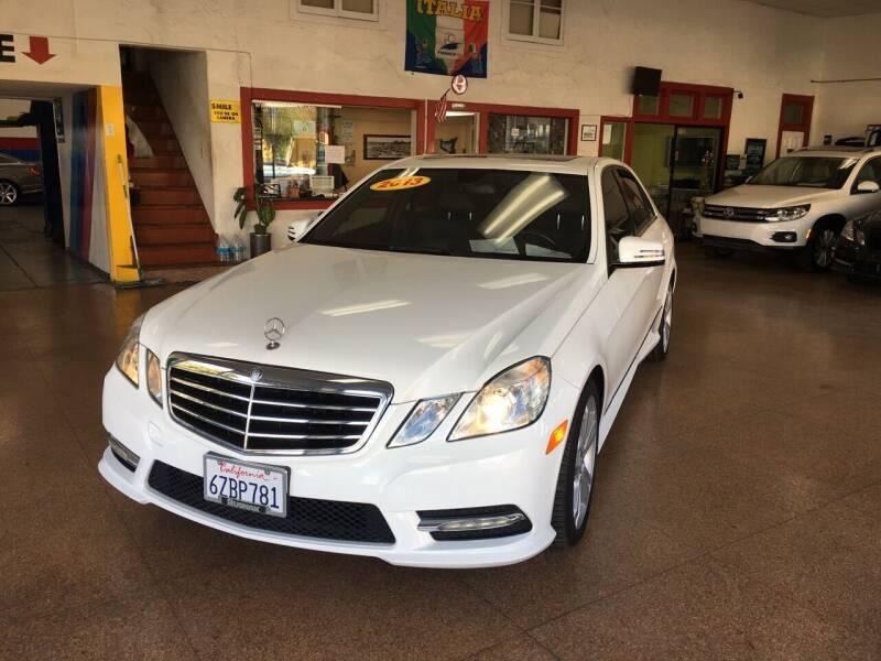 2013 Mercedes-Benz E-Class for sale at International Motors in San Pedro CA