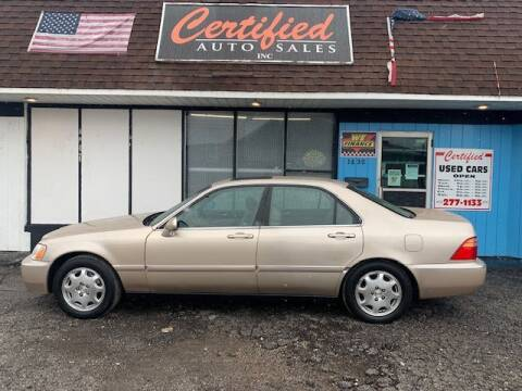 2001 Acura RL for sale at Certified Auto Sales, Inc in Lorain OH
