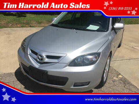 2008 Mazda MAZDA3 for sale at Tim Harrold Auto Sales in Wilkesboro NC