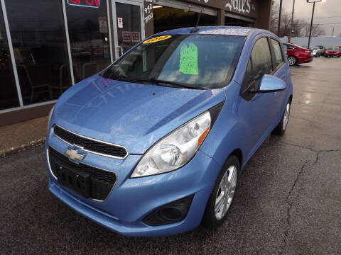 2013 Chevrolet Spark for sale at Arko Auto Sales in Eastlake OH