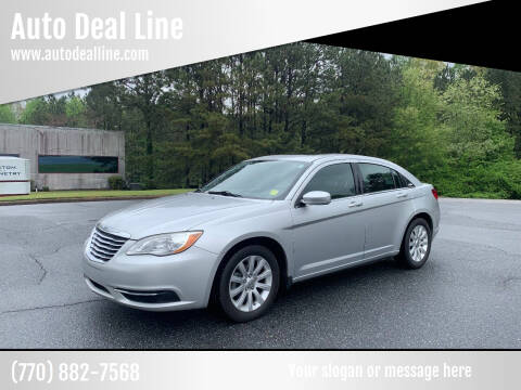 2012 Chrysler 200 for sale at Auto Deal Line in Alpharetta GA