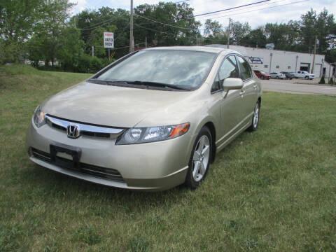2007 Honda Civic for sale at Triangle Auto Sales in Elgin IL