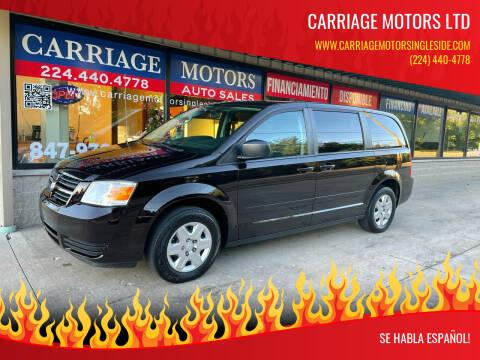 2010 Dodge Grand Caravan for sale at Carriage Motors LTD in Ingleside IL
