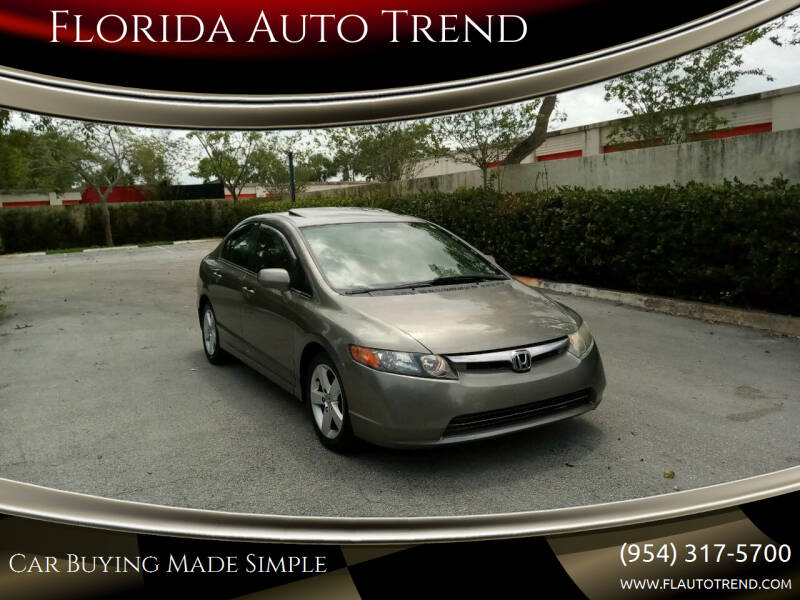 2006 Honda Civic for sale at Florida Auto Trend in Plantation FL