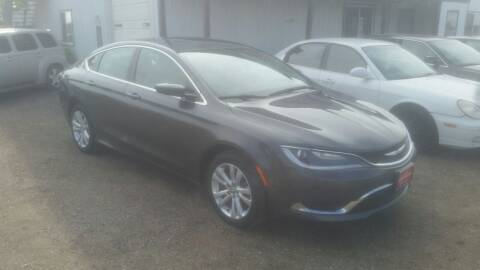 2016 Chrysler 200 for sale at Ron Lowman Motors Minot in Minot ND
