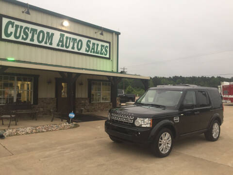 2012 Land Rover LR4 for sale at Custom Auto Sales - AUTOS in Longview TX