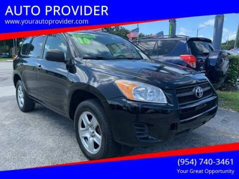 2010 Toyota RAV4 for sale at AUTO PROVIDER in Fort Lauderdale FL