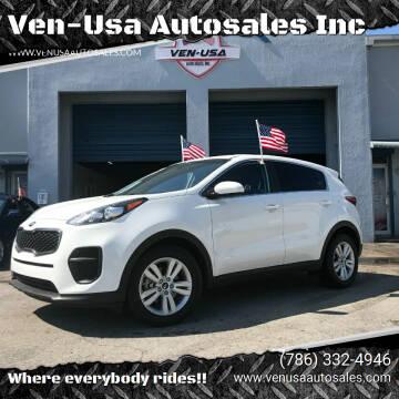2018 Kia Sportage for sale at Ven-Usa Autosales Inc in Miami FL
