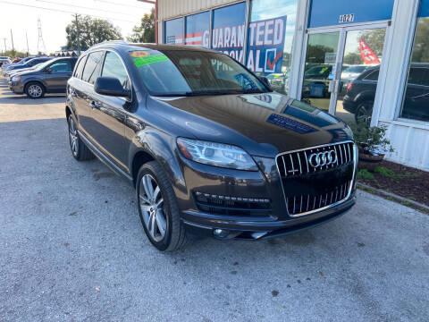 2014 Audi Q7 for sale at Lee Auto Group Tampa in Tampa FL