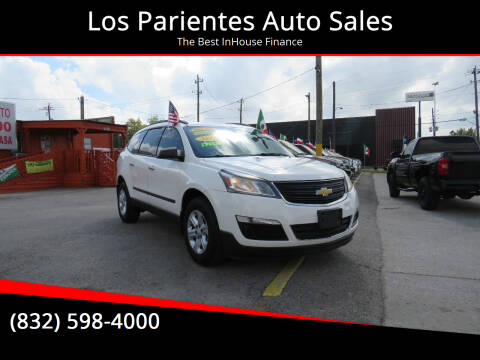 2013 Chevrolet Traverse for sale at Los Parientes Auto Sales in Houston TX
