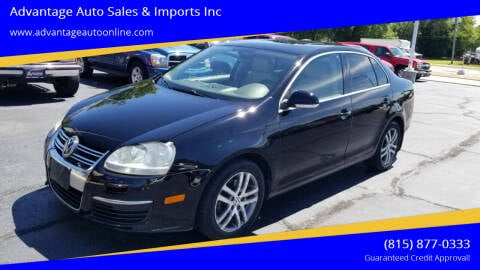 2006 Volkswagen Jetta for sale at Advantage Auto Sales & Imports Inc in Loves Park IL