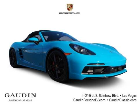2019 Porsche 718 Boxster for sale at Gaudin Porsche in Las Vegas NV