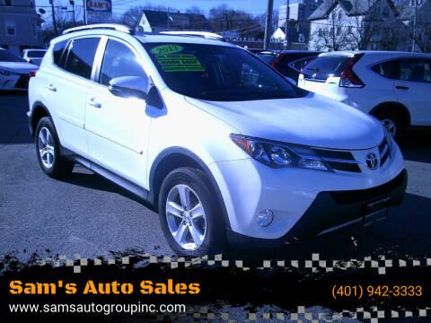 2013 Toyota RAV4 for sale at Sam's Auto Sales in Cranston RI
