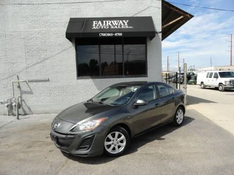 2011 Mazda MAZDA3 for sale at FAIRWAY AUTO SALES, INC. in Melrose Park IL