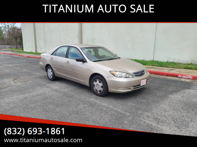 2006 Toyota Camry for sale at TITANIUM AUTO SALE in Houston TX