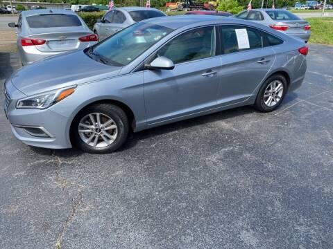 2017 Hyundai Sonata for sale at Rayyan Auto Mall in Lexington KY