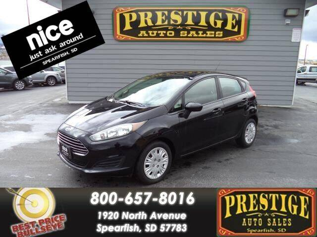 2016 Ford Fiesta for sale at PRESTIGE AUTO SALES in Spearfish SD