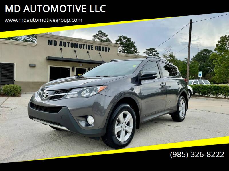 2014 Toyota RAV4 for sale at MD AUTOMOTIVE LLC in Slidell LA