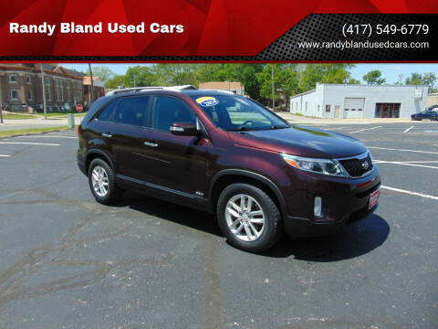 2014 Kia Sorento for sale at Randy Bland Used Cars in Nevada MO