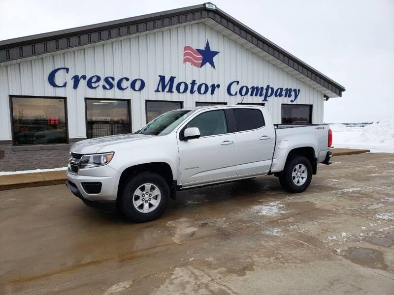 2019 Chevrolet Colorado for sale at Cresco Motor Company in Cresco IA
