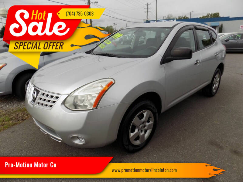2010 Nissan Rogue for sale at Pro-Motion Motor Co in Lincolnton NC